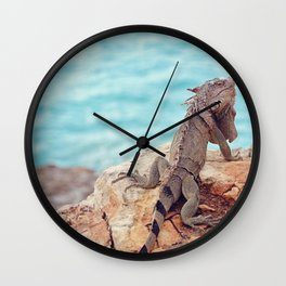 Cliffhanger Wall Clock
