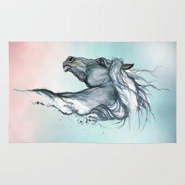 Aqua horse Rug