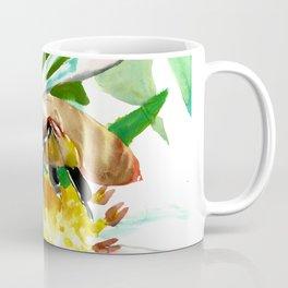 Bee and Flower, Honey Bee Coffee Mug