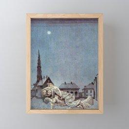 Tinder Box By Kay Nielsen Framed Mini Art Print