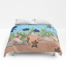 little aquarium Comforters