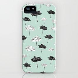 Umbrellas. iPhone Case
