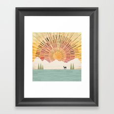 Spark at Dawn Framed Art Print