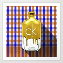 CK ONE GOLD_PA KAO MA01 Art Print
