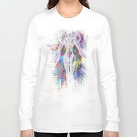 metroid Long Sleeve T-shirts featuring Metroid by Bradley Bailey