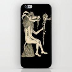 Creature Holding Sceptre iPhone & iPod Skin