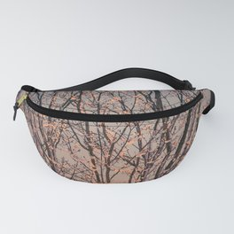 Winter Tree at Sunset Fanny Pack