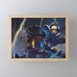 Full Metal Jayce League of Legends Framed Mini Art Print