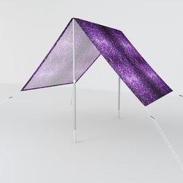 Beautiful Dark Purple glitter sparkles Sun Shade