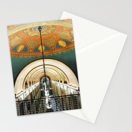 Art Deco Fisher Building Downtown Detroit Stationery Cards