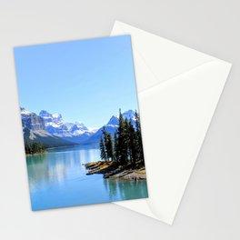 Spirit Island, Maligne Lake Stationery Cards