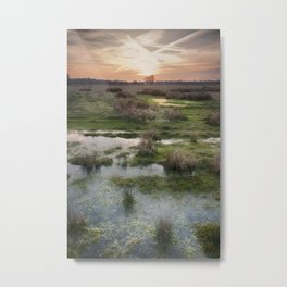 South Willesborough Sunset Metal Print