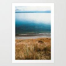 Rocky Shore from Island Cliffs Art Print