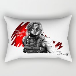 Who the hell is Bucky? Rectangular Pillow