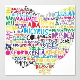 Ohio Proud Canvas Print