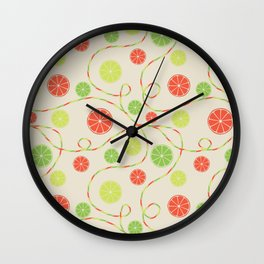 Fruit juice Wall Clock