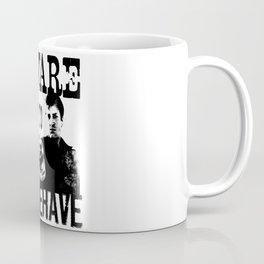 I aim to misbehave Coffee Mug