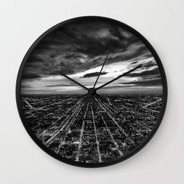 rapture, meet urbania Wall Clock