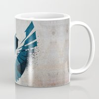infamous Mugs featuring inFamous Second Son Good Karma 1 by Kyrsten Carlson