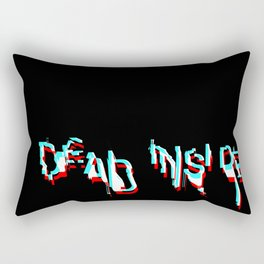 dead inside Rectangular Pillow