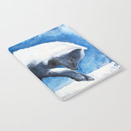 Animal - Antoine the Artic Fox - by LiliFlore Notebook