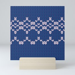 Scandinavian pattern Mini Art Print