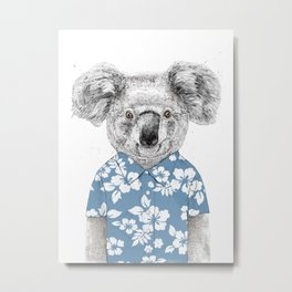 Summer koala (color version) Metal Print