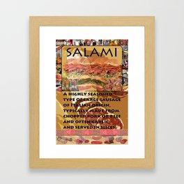 SALAMI SYNECTICS2 #13 Framed Art Print