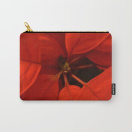 Poinsetta Center Carry-All Pouch