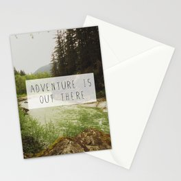 adventure is out there. Stationery Cards
