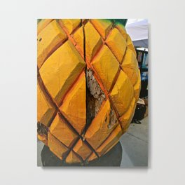 Pineapple Fest Metal Print