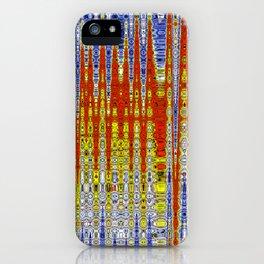 Colour in Tempo iPhone Case