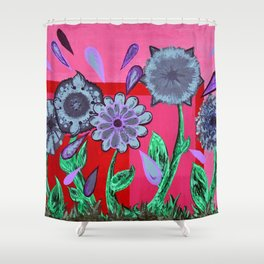 .love me...love me not. Shower Curtain