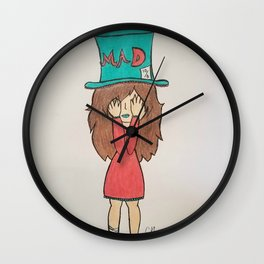 Mad Girl Wall Clock