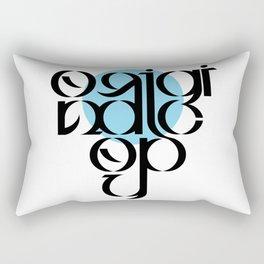 Original Copy Rectangular Pillow