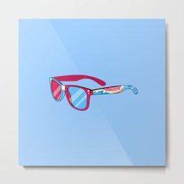 Noviewmber glasses Metal Print