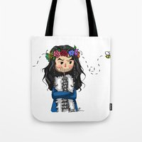 thorin Tote Bags featuring Thorin by marvelsoo