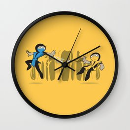 Round One Wall Clock