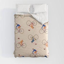 Bike Pattern Comforters