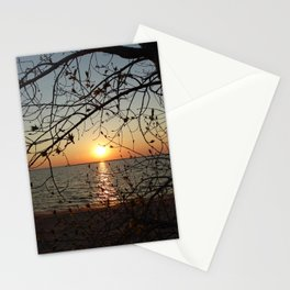Spring Sunset Stationery Cards