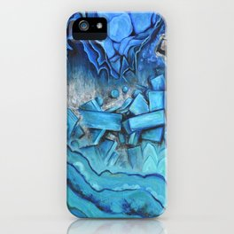 Azul Geode iPhone Case