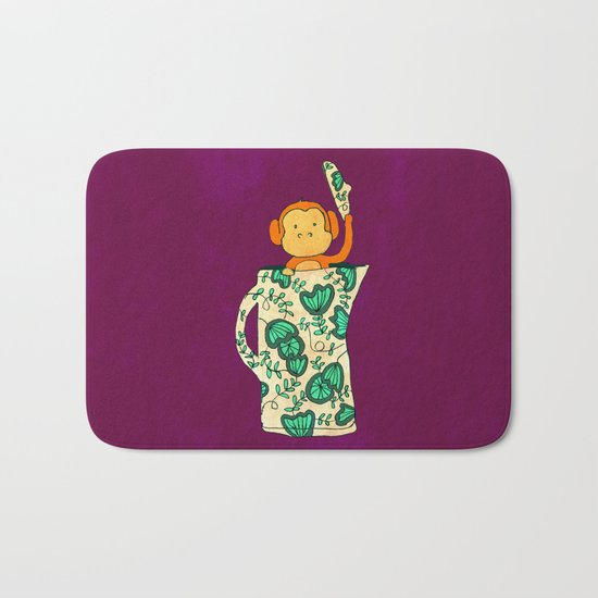 Dinnerware sets - Monkey in a jug Bath Mat