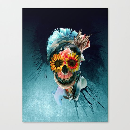 Skull Women Canvas Print