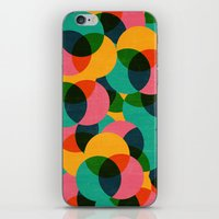 imagine iPhone & iPod Skins featuring imagine by her art