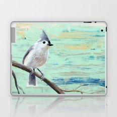 Tufted Titmouse Laptop & iPad Skin
