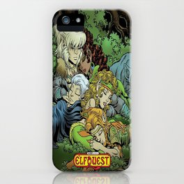 Elf quest  iPhone Case