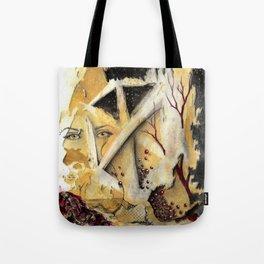 Lost in Cube Dimensions Tote Bag