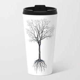 Tree without leaves Travel Mug