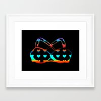bikini Framed Art Prints featuring Bikini by LoRo  Art & Pictures