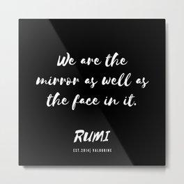 24    Rumi Quotes Good Vibes 190514 Metal Print
